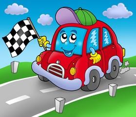 Starter automobilskih utrka na cesti