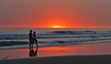Puesta De Sol En Cadiz