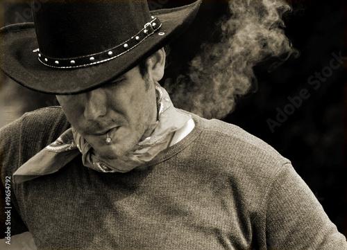 Fotografie, Tablou  Cowboy