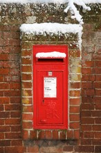 A British Letter Box In The Wi...