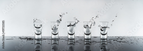 shot of alcohol, vodka Russian Poster Mural XXL
