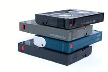Stack Of Video Cassettes