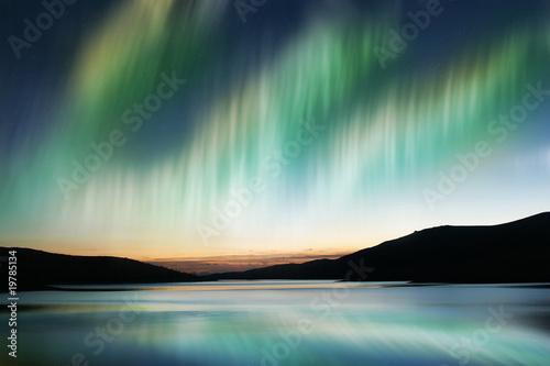 Poster Aurore polaire Aurora Borealis