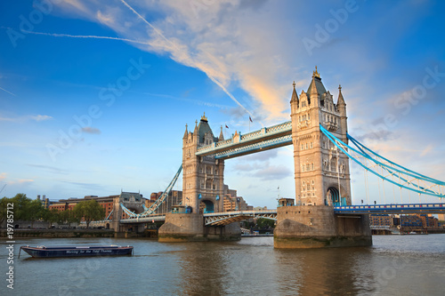 Poster London Tower Bridge, London, UK