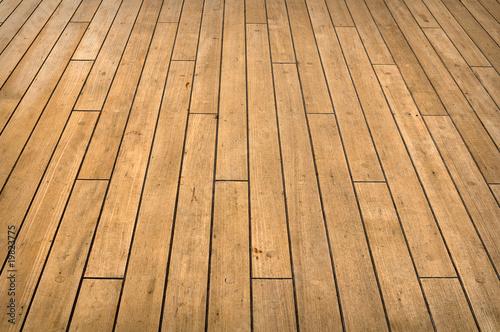 Fotografie, Obraz  Ship Deck
