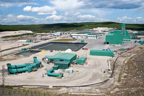 Fotografie, Obraz  Uranium Mine Site in Northern Canada