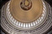 US Capitol Round Dome Rotunda ...