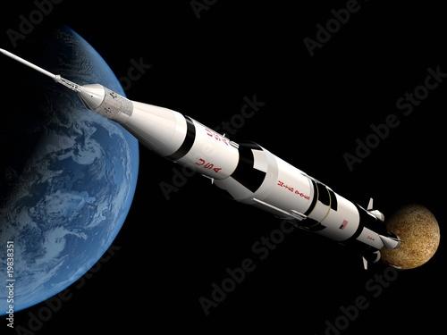 Keuken foto achterwand Nasa The space ship