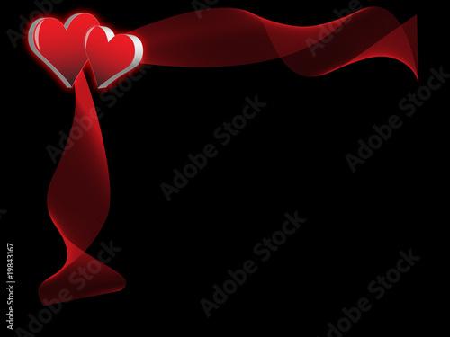 Leinwand Poster heart1