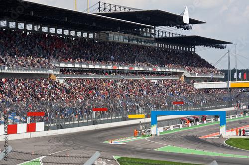 Fotografía  Motorsport Rennstrecke