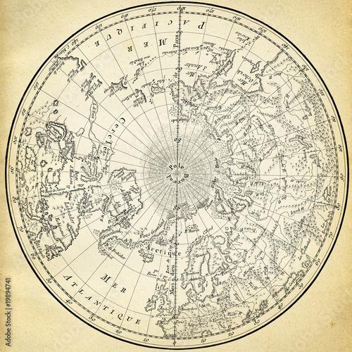 starozytna-mapa-1746-r-polkuli-polnocnej
