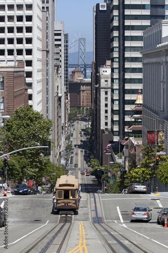 Obrazy San Francisco  wzgorze