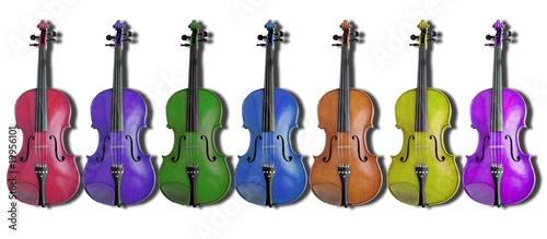 Fotografie, Obraz  Violini