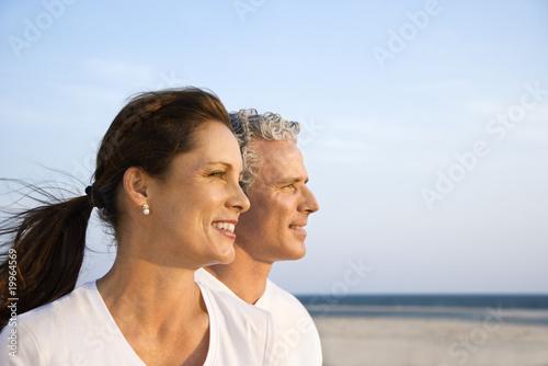 Fotografia, Obraz  Couple on Beach