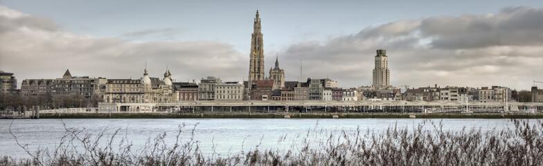 Panorama grada Antwerpena (visoka razlučivost)