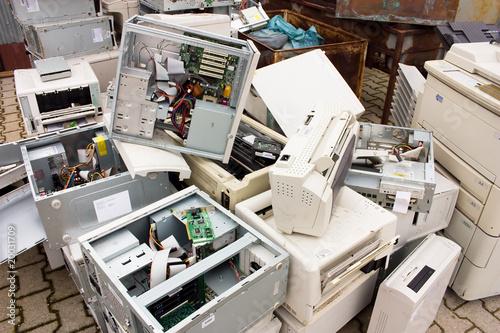 Fotografia, Obraz  e-waste