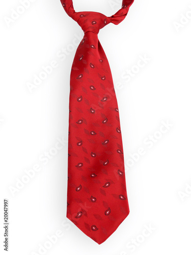 Fotografie, Obraz  Rote Krawatte