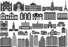 Simple Vector Buildings, Inclu...