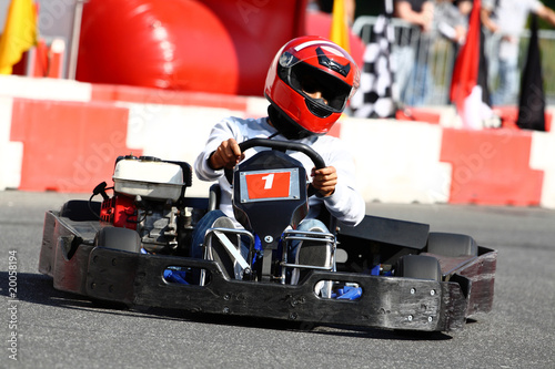 Photo sur Aluminium Motorise Kartsport II