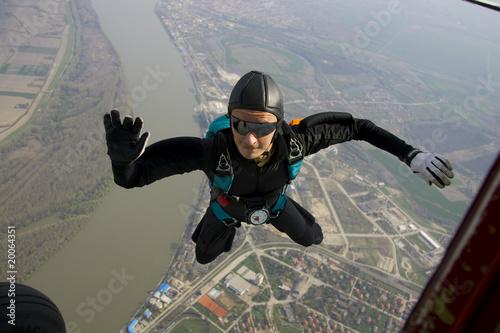 Fotografie, Obraz  Skydiver