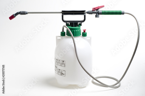 Fotografía  Large spray container and nozzle used for spraying chemicals