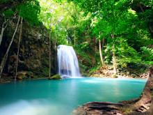 Waterfall Eravan, In Kanchanab...