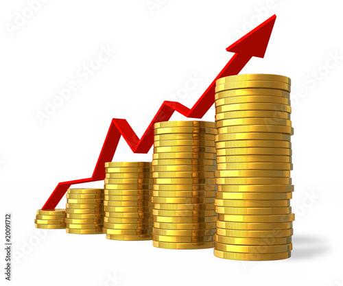 Fotografía  Financial success concept