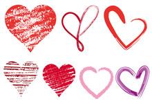 Heart Doodles, Vector