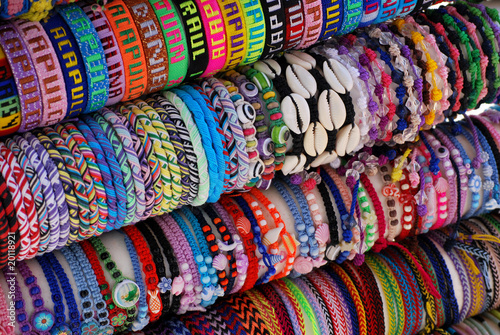 Fotografia, Obraz  bracelets from acapulco