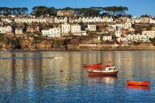 Fowey On The Cornwall Coast Of...