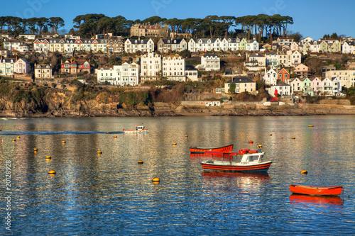 Photo  Fowey on the Cornwall coast of England