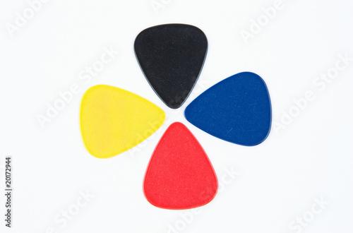 Fényképezés  Colored Guitar Picks