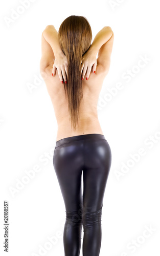 Valokuva Picture of sexy girl from behind