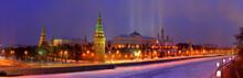 Kremlin In Winter's Morning