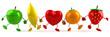 Coeur et fruits