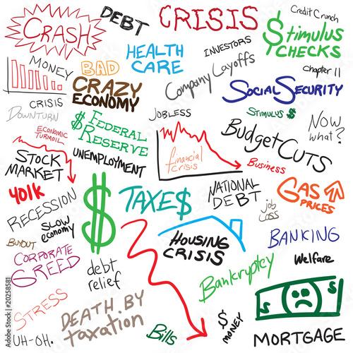Photo  Economy Doodles
