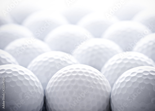Canvas Prints Golf Golf Balls