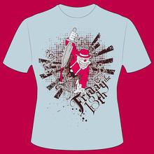 T-Shirt Druck Clown