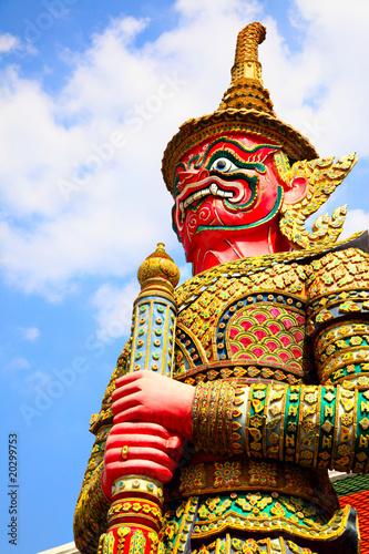 Poster Bangkok Guard statue