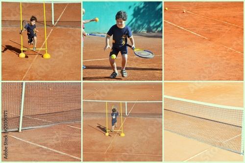e29d20cce0f88 enfant garçon 5 ans qui joue au tennis (multi) - Buy this stock ...