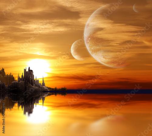 krajobraz-w-planecie-fantasy