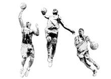 Basketball Trio