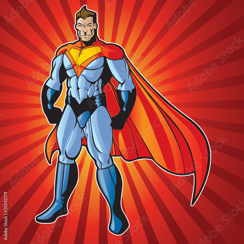 Papiers peints Comics Super human man