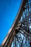 Fototapeta Paryż - Eiffel Tower detail