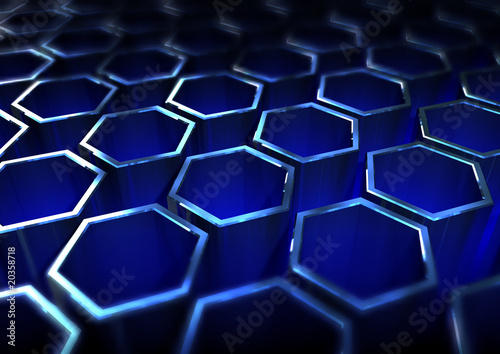 Abstract metallic grid © JumalaSika ltd