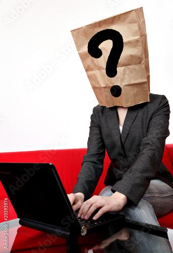 Fotografía  Anonym im Internet