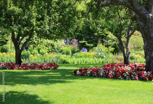 Papiers peints Jardin Park garden