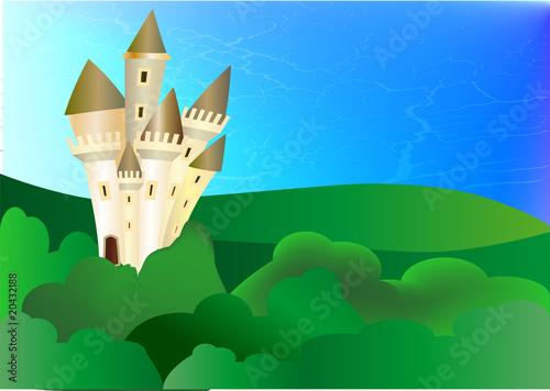 Papiers peints Chateau château