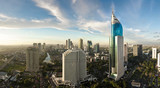 Fototapeta Miasto - Jakarta city panorama