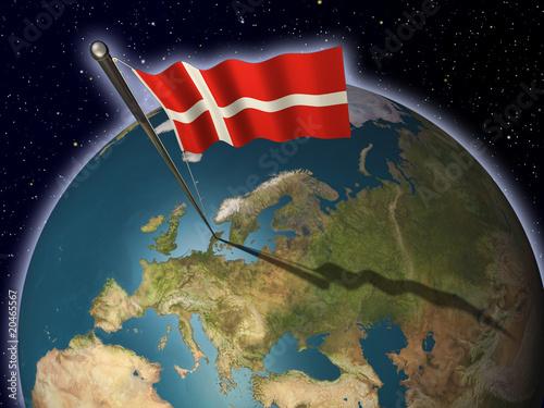 eartflag_denmark Poster